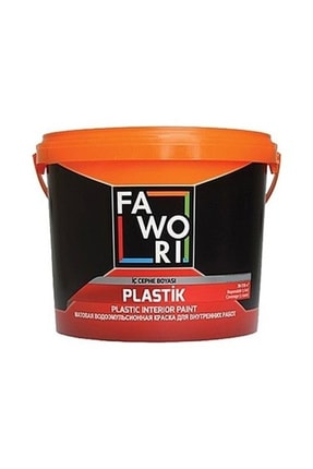 Fawori Plastik Iç Cephe Duvar Boyası 3.5 Kg Renk:füme