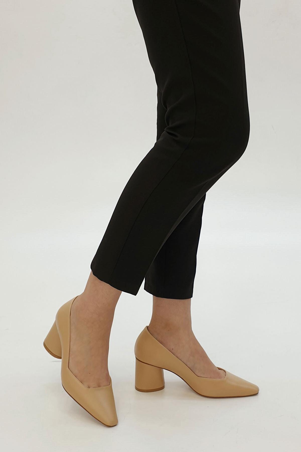 Marjin Kadın Lores Klasik Topuklu Ayakkabı 1