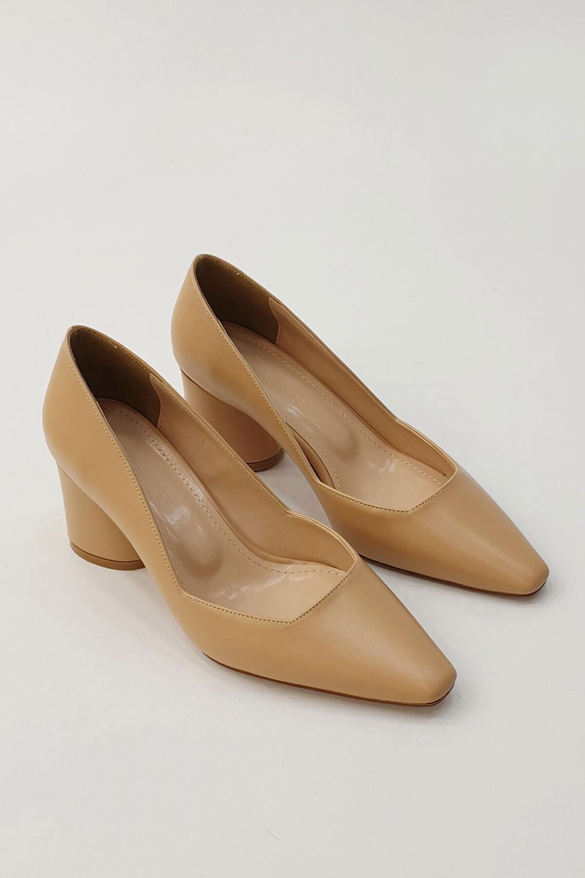 Marjin Kadın Lores Klasik Topuklu Ayakkabı 2