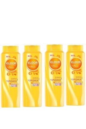 Elidor Ipeksi Yumuşaklık Saç Bakım Şampuanı 500 ml x 4 Set