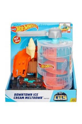 HOT WHEELS Şehir Otoparkı Dondurma Arası Oyun Seti