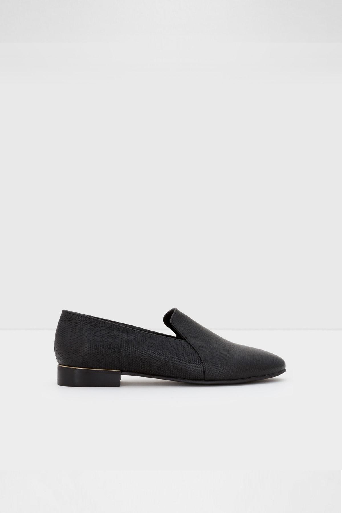 Aldo Kadın Siyah Rıramma Loafer Ayakkabı 1