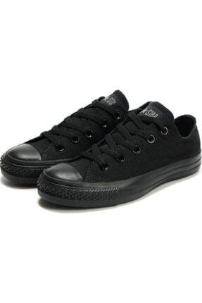 Convers Unisex Siyah Günlük Tarz Spor Ayakkabı