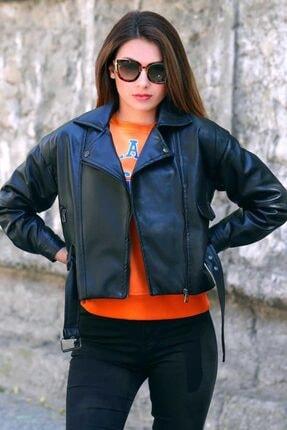 Madmext Kadın Siyah Ceket Mg802