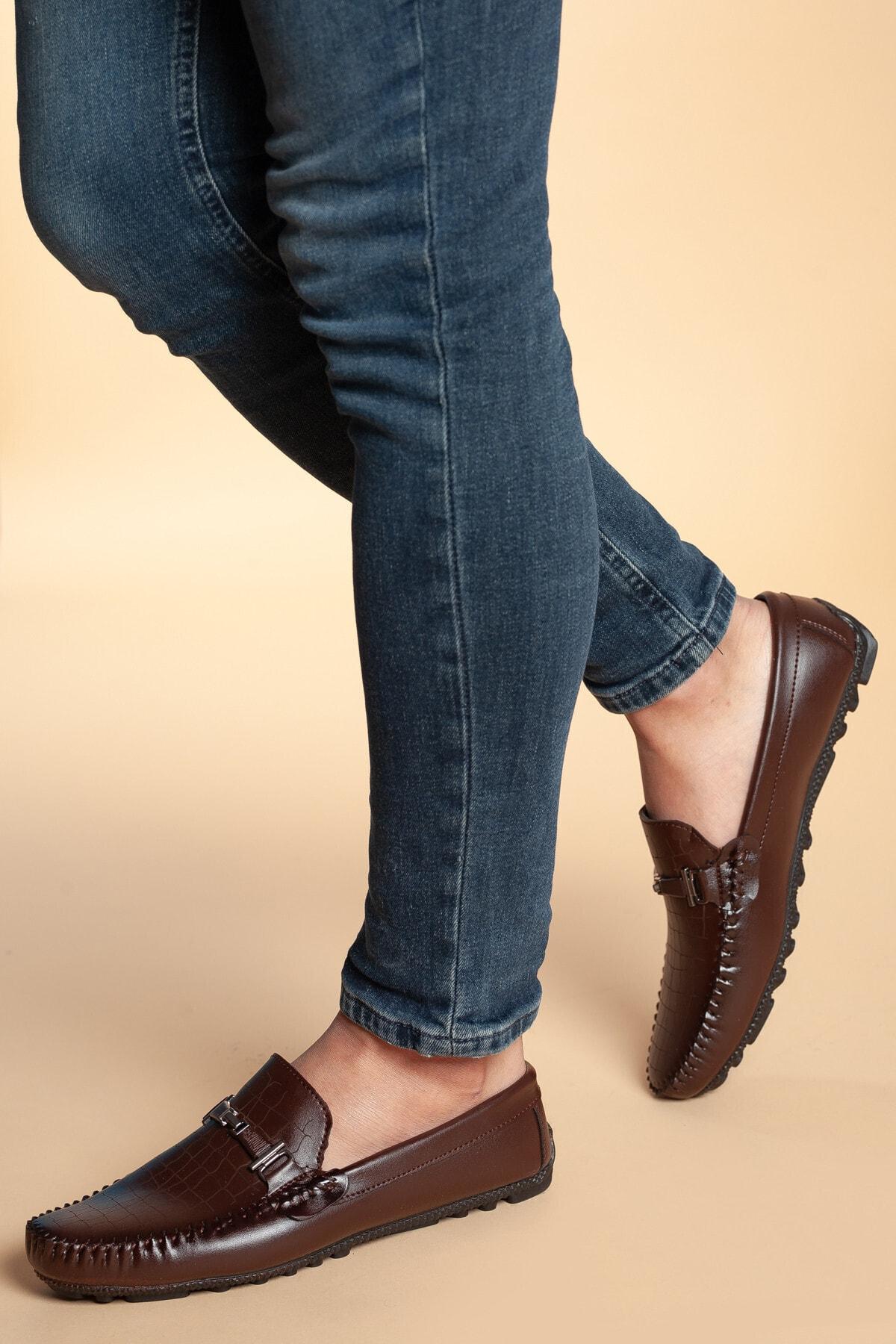 Daxtors Erkek Kahverengi Nubuk Ayakkabı 2