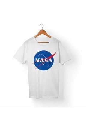 Alfa Tshirt Beyaz Nasa Tişört
