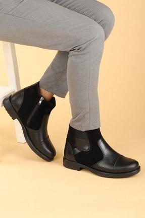 Ayakland Termo Taban İçi Kürklü Fermuarlı Erkek Bot Ayakkabı 640