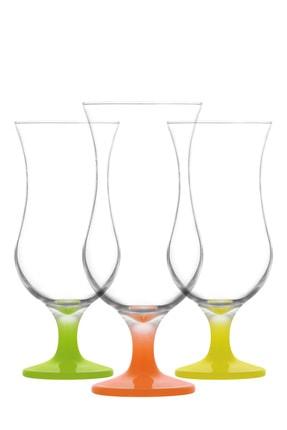 LAV Tropikal Kokteyl Bardağı 3'lü