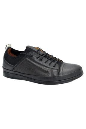 Barker Erkek Siyah Günlük Ayakkabı