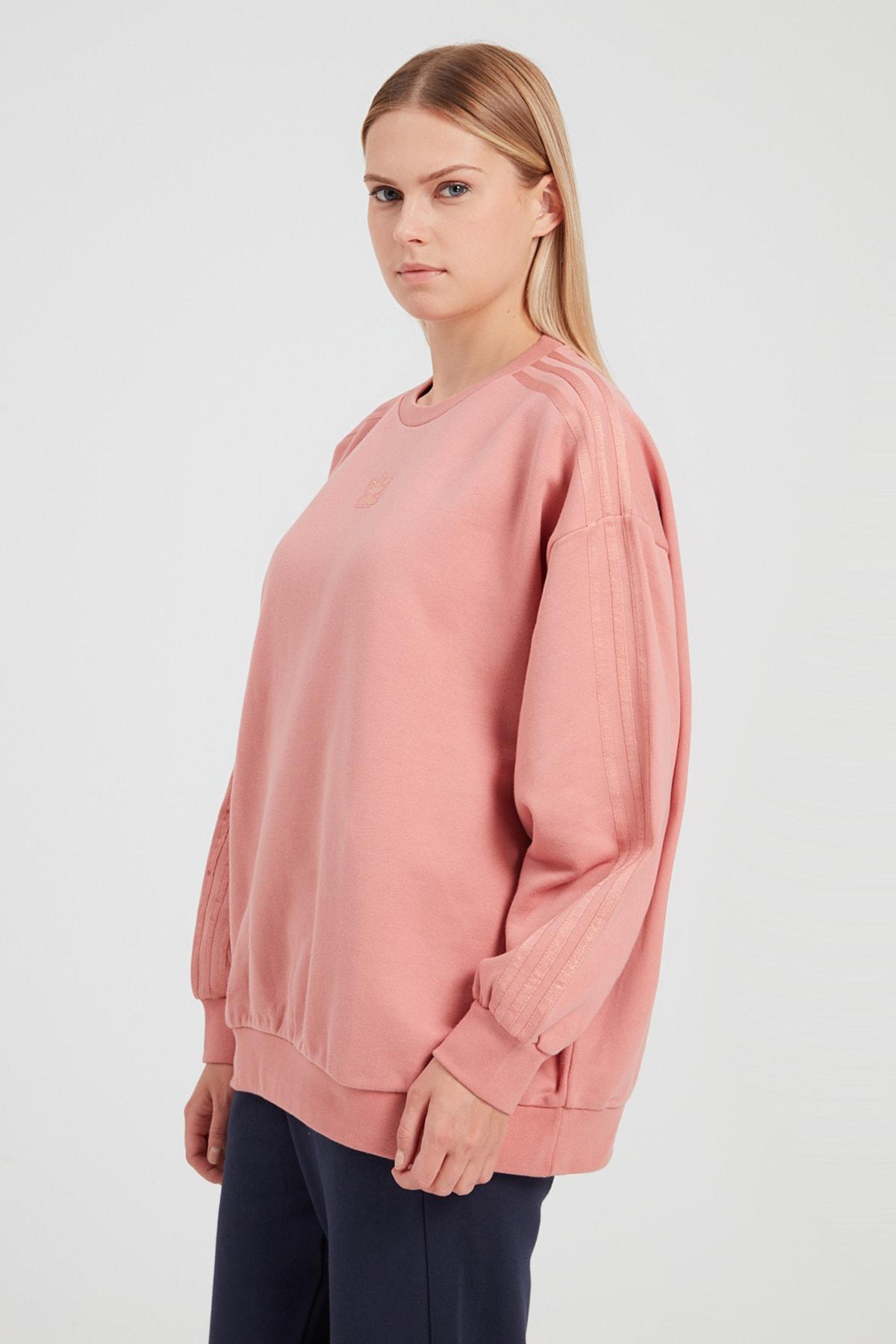 adidas Kadın Spor Sweatshirt - Crew Sweatshırt 2