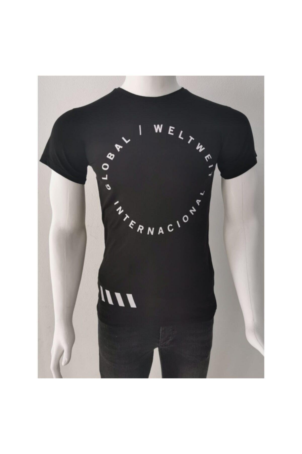 Ceo Erkek Siyah T-shirt 1