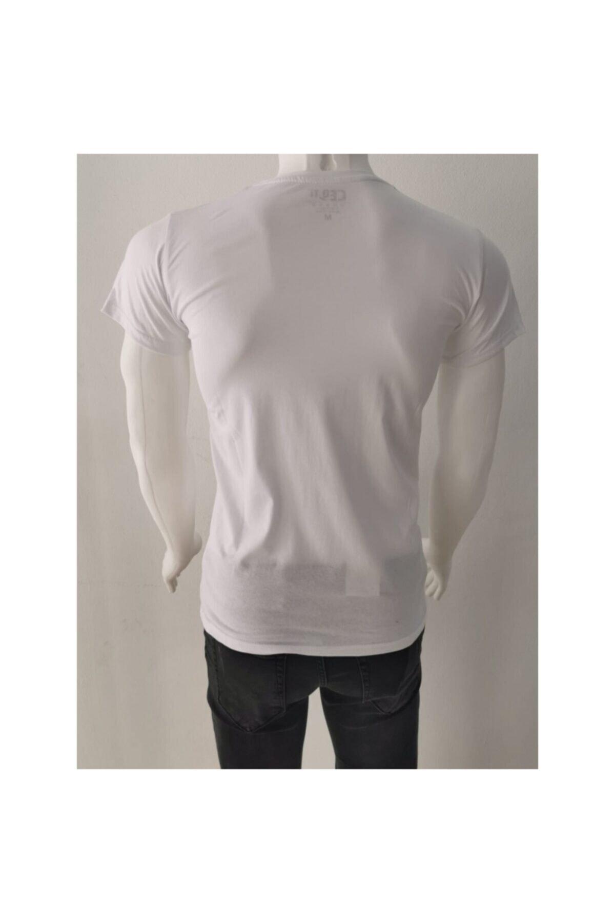 Ceo Erkek Siyah T-shirt 2