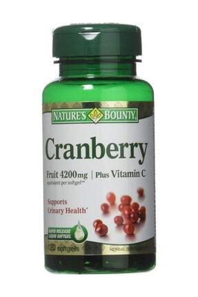 Nature's Bounty Cranberry Plus Vitamin C 100 Softj