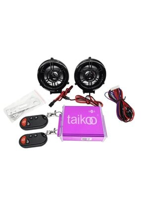 Suzuki Motosiklet Yüksek Ses Mp3 Çalar + Radyo + Alarm + Türkçe Sesli + Bluetooth