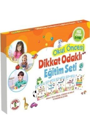 Sihirli Kalem Okul Öncesi Dikkat Odaklı Eğitim Seti 3-4 Yaş ( Dikkat Zeka Güçlendirme Seti )