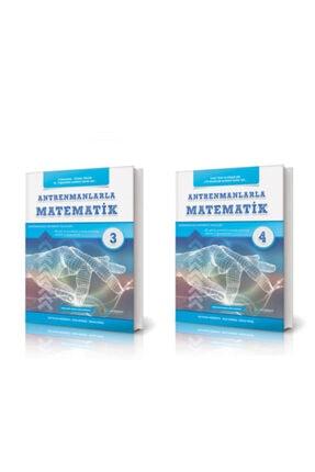 Antreman Yayıncılık Antrenmanlarla Matematik 3- 4 Set 2 Kitap