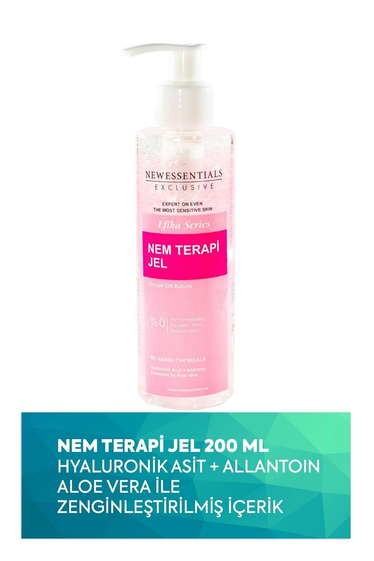 New Essentials Hyaluronik Asit + Aloe Vera Nem Terapi Jeli 200ml 1
