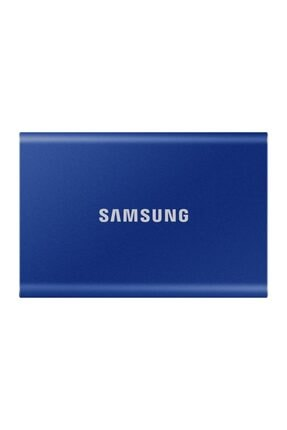 Samsung T7 500gb Usb 3.2 Gen 2 10gbps Type-c Taşınabilir Ssd Mavi Mupc500h
