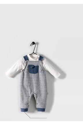 Bebetto Erkek Bebek Dokuma Salopet 2'li Takım