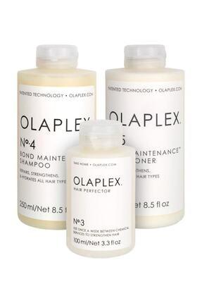 Olaplex Bağ Mükemmelleştirici Saç Bakım Seti