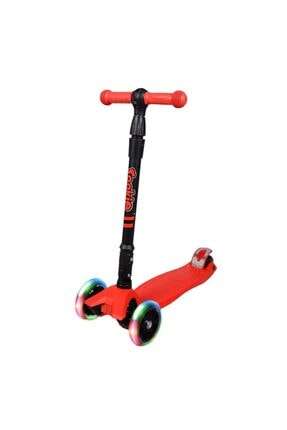 Özaktaç Rookie Işıklı Katlanabilir Scooter