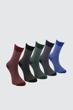 TRENDYOL MAN Çok Renkli Erkek 5'li Soket Çorap TMNAW21CO0084