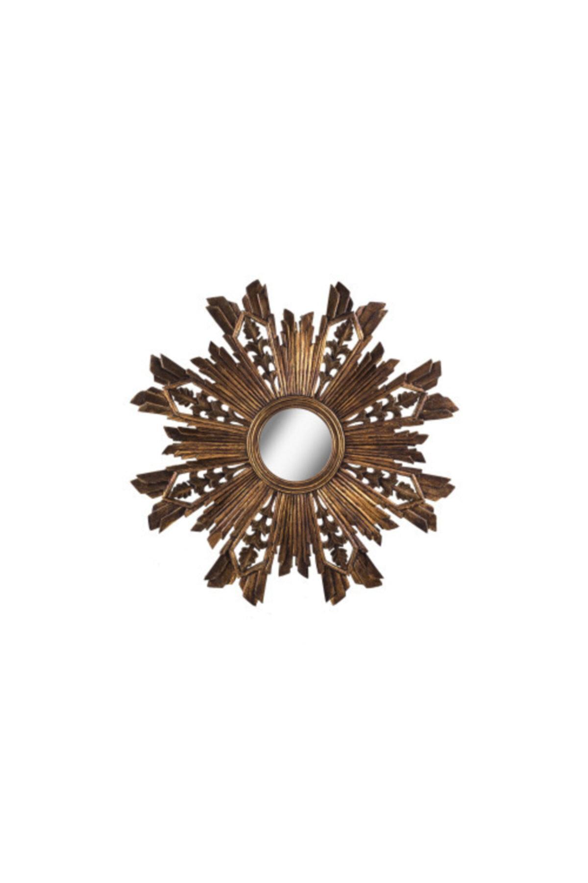 Warm Design Antik Altın Ayna 1