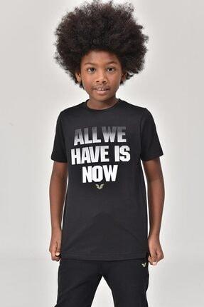 bilcee Siyah Erkek Çocuk T-Shirt GS-8146