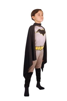 Batman Çocuk Gri Basic Kostüm 7-9