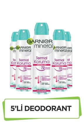 Garnier 5'li Garnier Mineral Termal Koruma Sprey Deodorant Seti 36005419288485