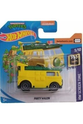 HOT WHEELS Tekli Arabaları Ninja Turtles Party Wagon Ghb47