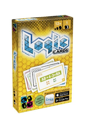 Brain Games Logic Cards Yellow