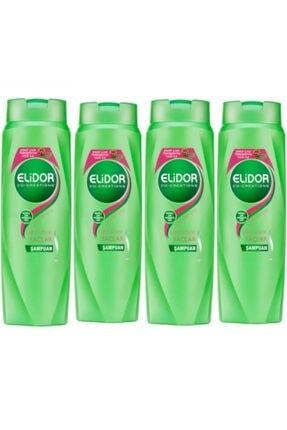 Elidor Sağlıklı Uzayan Saçlar Için Şampuan 500 Ml X 4 Lü Set.