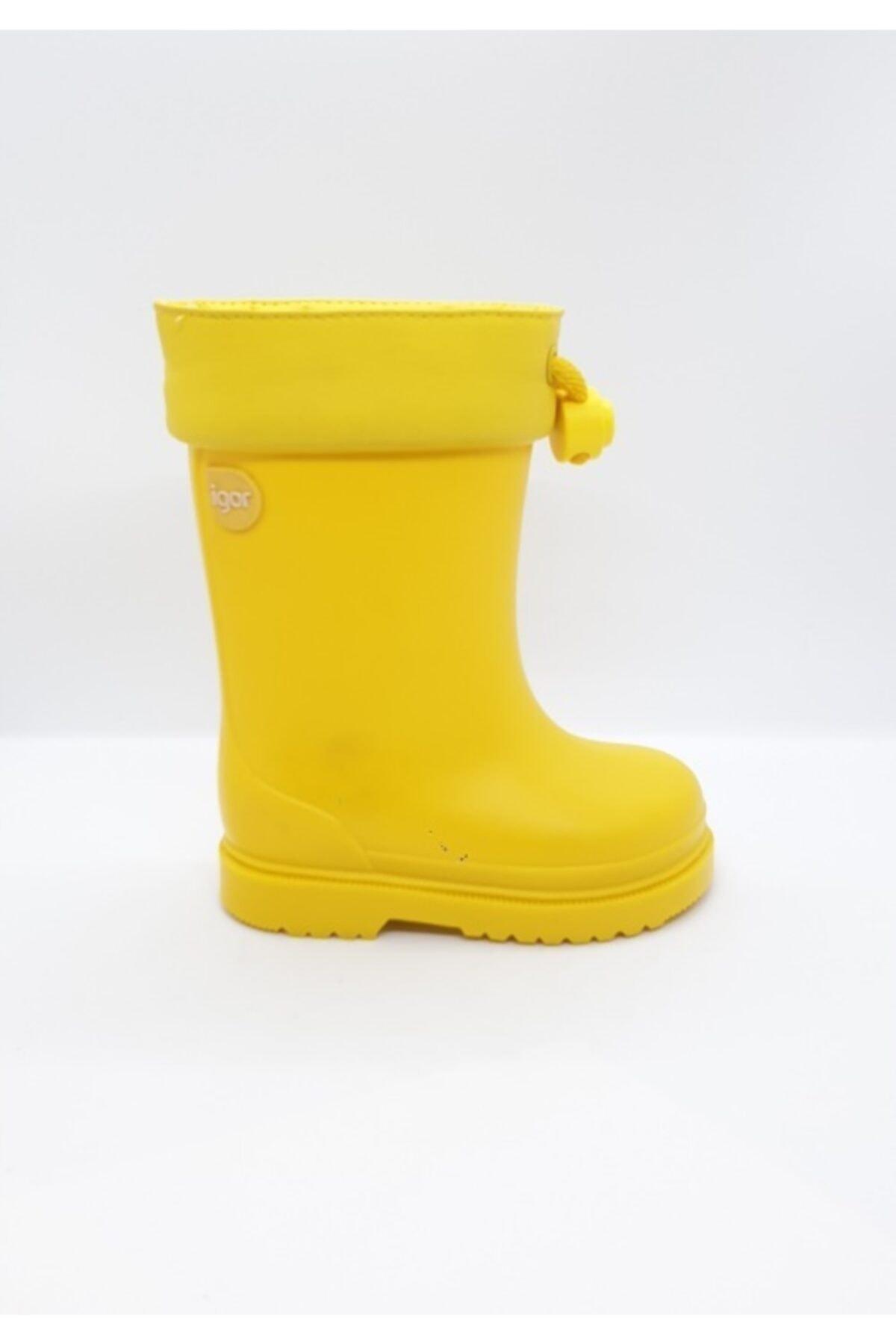 IGOR Çocuk Sarı Chufo Sarı Su Geçirmez Yağmur Çizmesi 1