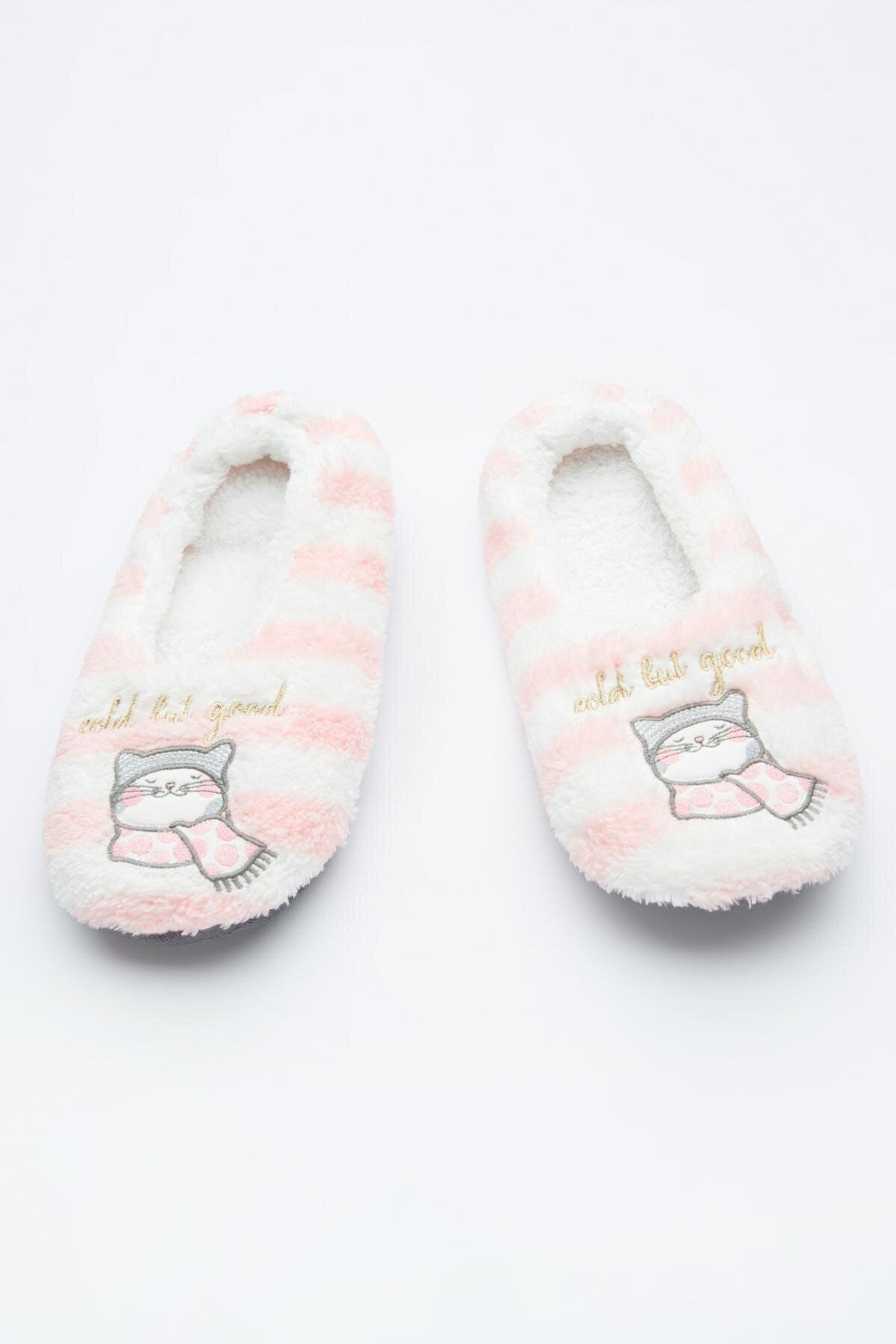 Penti Kadın Çok Renkli Cold Çizgili Patik Çorabı