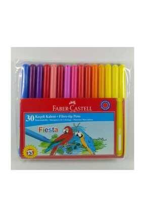 Faber Castell Keçeli Kalem 30 Renk Fiesta Rl 082704