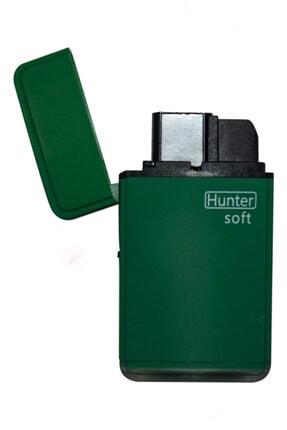 Hunter Çift Pürmüz Alev Mat Renk Çakmak Yeşil