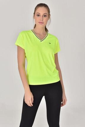bilcee A.Yeşil Kadın T-Shirt GS-8029