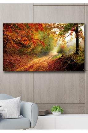 Hediyeler Kapında 90x130 Saklı Bahçe Kanvas Duvar Tablo