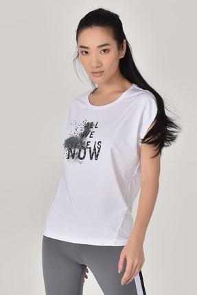 bilcee Beyaz Kadın T-Shirt GS-8602
