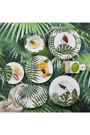 Porland Botanik 32 Parça 6 Kişilik Yemek Takımı