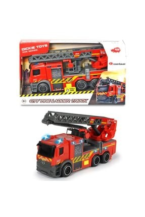 Dickie Toys City Fire Ladder Truck 203714011038