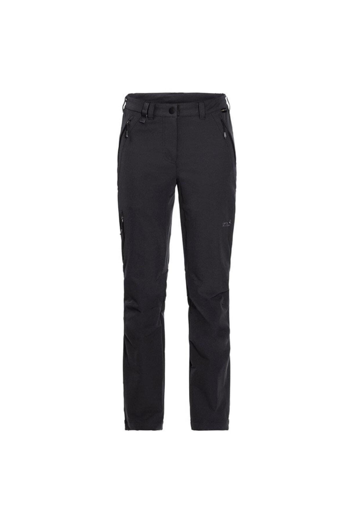 Jack Wolfskin Kadın Siyah Activate XT  Pantolon 1