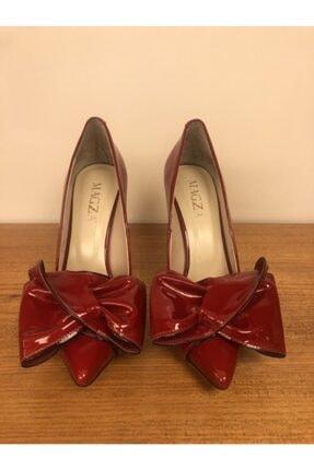 MAGZA Kadın Kırmızı İnce Topuklu Ayakkabı