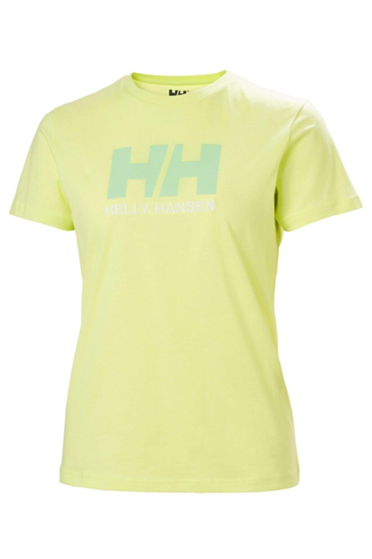 Helly Hansen Kadın Yeşil T-Shirt 1