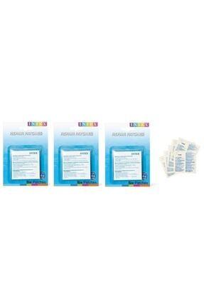 Intex Tamir Onarım Yaması 3 Adet ( 18'li ) Şişme Bot , Yatak , Havuz Tamir Onarım Yaması