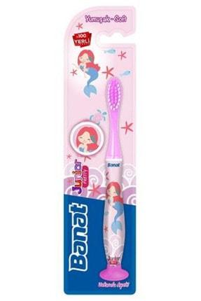 Banat Junior Pretty Çocuk Diş Fırçası - Vakumlu Ayak
