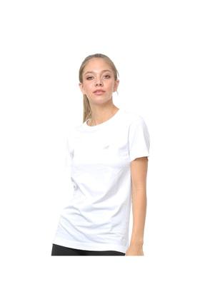 New Balance Pro Tee Beyaz Kadın Tişört - Nbtm014-wt