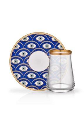 Glore Tarabya Çay Bardağı Seti 6 Lı Nazende