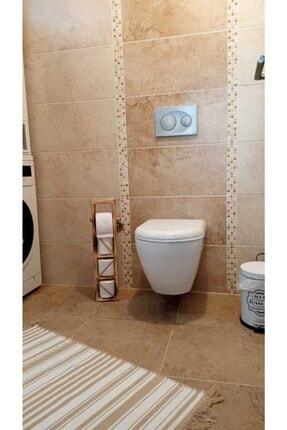 Ankaflex Ahşap Rulo Tuvalet Kâğıdı Rafı